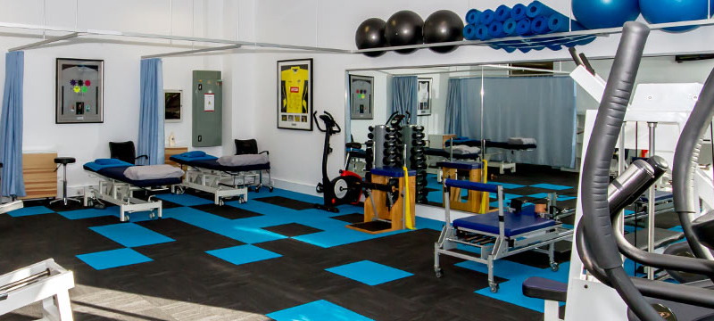 Kwinana Physiotherapy has a fully equipped gymnasium for private use and for insurance-based rehabilitation